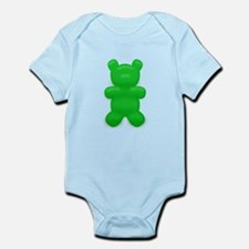Green Gummi Bear Infant Bodysuit