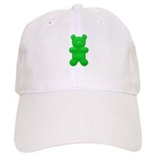 Green Gummi Bear Baseball Cap