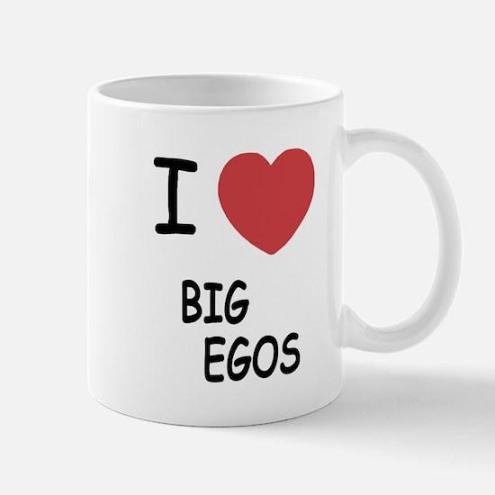 I heart big egos Mug