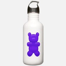 Dark Blue Gummi Bear Water Bottle