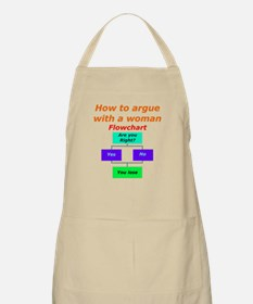 How to argue with a woman, Ac Apron