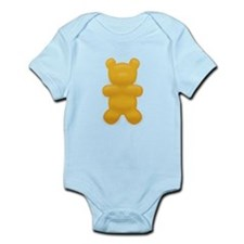 Orange Gummi Bear Infant Bodysuit