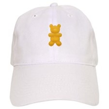Orange Gummi Bear Baseball Cap