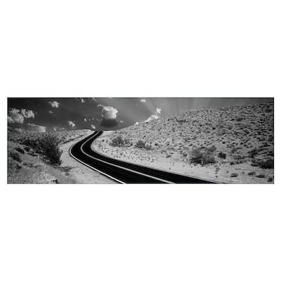 Road Las Vegas NV Poster