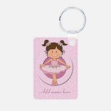 Personalized Ballerina Ballet Keychains