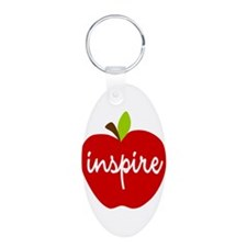 Inspire Apple Keychains