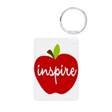 Inspire Apple Aluminum Photo Keychain
