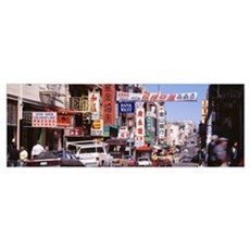 California, San Francisco, Chinatown, People in th Poster