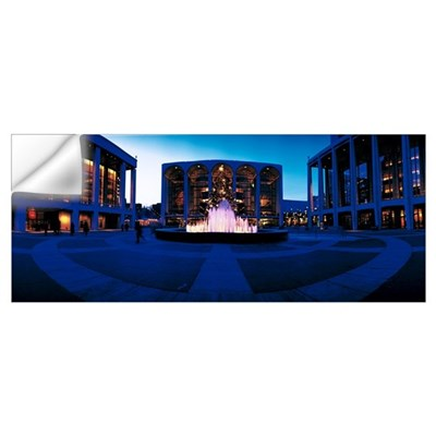 Fountain Lincoln Center New York NY Wall Decal