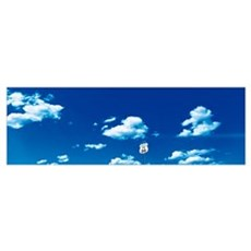 Clouds Route 66 Isleta NM Poster