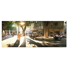 Cafe Provence France Poster