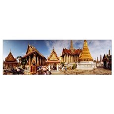 The Imperial Palace Bangkok Thailand Framed Print