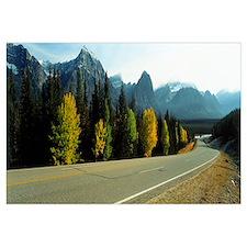 Road Alberta Canada