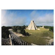 Pyramid Chichen Itza Mexico