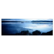 Lake Leven Kinross Scotland Poster