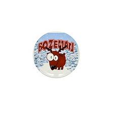 Bozeman Elk Mini Button