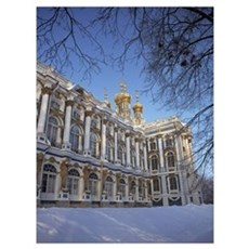Catherine Palace St Petersburg Russia Poster