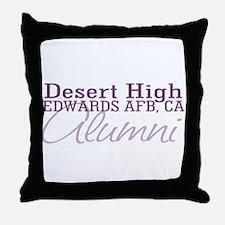 Desert Alumni Throw Pillow
