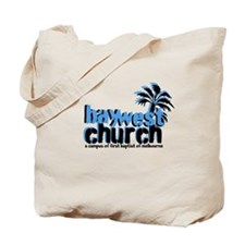 Unique Church bay Tote Bag
