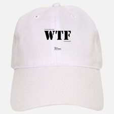 """I've had a brain tumor WTF is your excuse?"" Baseball Baseball Cap"
