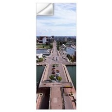 City viewed from Bicentennial Tower Lake Erie Erie Wall Decal