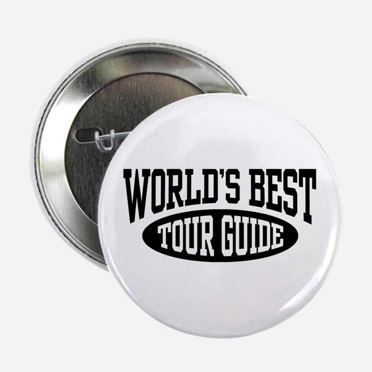 "World's Best Tour Guide 2.25"" Button"