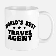 World's Best Travel Agent Mug