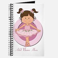 cute pink Ballerina Ballet Journal