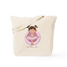 cute pink Ballerina Ballet Tote Bag