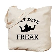 Sky Dive Freak Tote Bag