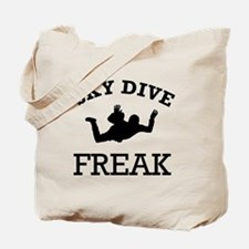Sky Dive Freak Tote Bag