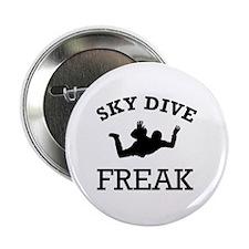 """Sky Dive Freak 2.25"""" Button"""