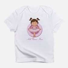 Personalized Ballerina Balle Infant T-Shirt
