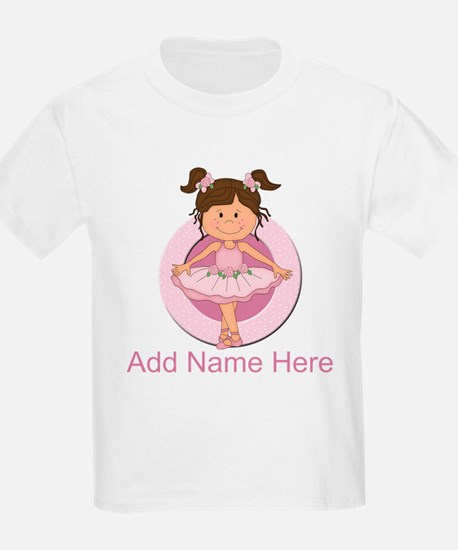 Personalized Ballerina Balle T-Shirt