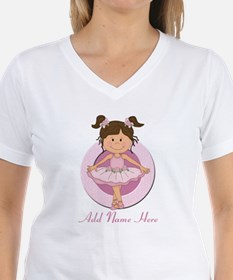 Personalized Ballerina Balle Shirt