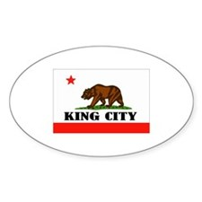 King City,Ca -- T-Shirt Decal