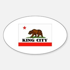 King City,Ca -- T-Shirt Decal