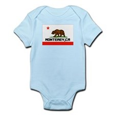 Monterey,Ca -- T-Shirt Infant Bodysuit