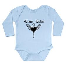 Cute B i c Long Sleeve Infant Bodysuit