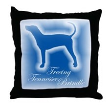 Tennessee Brindle Throw Pillow