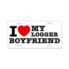 I love my Blogger Boyfriend Aluminum License Plate