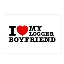I love my Blogger Boyfriend Postcards (Package of