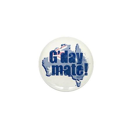 G'day Mate Mini Button