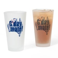G'day Mate Drinking Glass