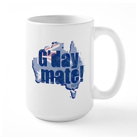 G'day Mate Large Mug