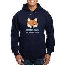 Shiba Inu Face Hoodie