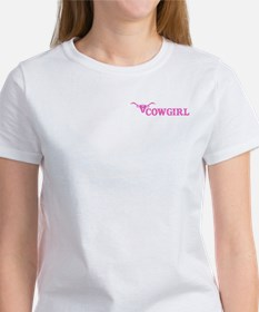 Funny Cowgirl up vintage Tee