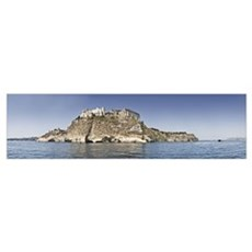 Castle on an island Castello Aragonese Ischia Isla Poster