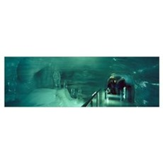 Sculptures in the Ice Palace Jungfraujoch Bernese  Canvas Art
