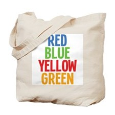 Wrong Color Words Tote Bag